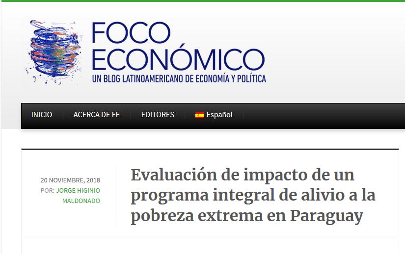 El enfoque de graduación para la reducción de la pobreza extrema: evaluación del impacto del programa Sembrando Oportunidades Familia por Familia en Paraguay